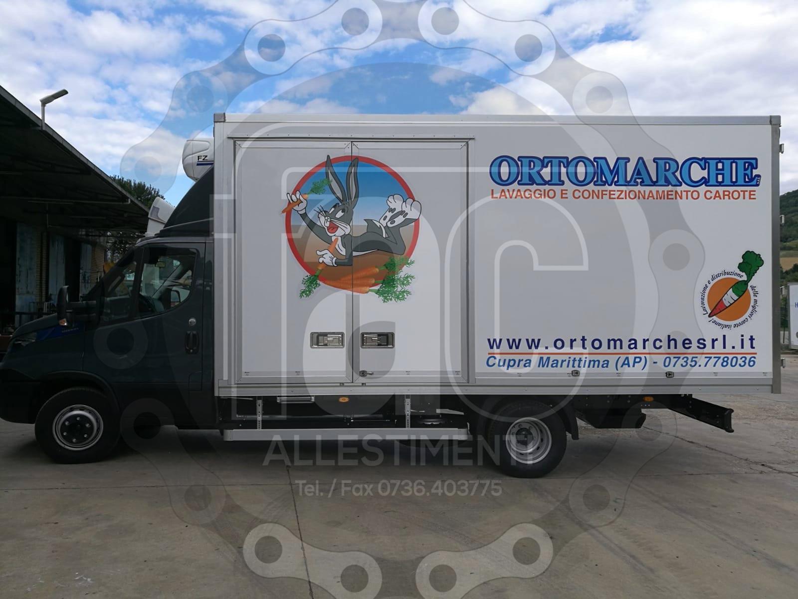Realizzazione di allestimento di veicolo speciale di FAC Allestimenti