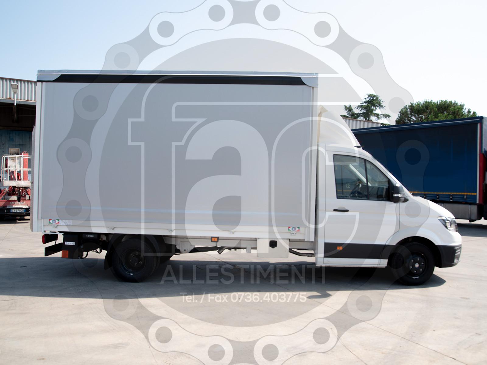 Realizzazione di furgone in alluminio 4