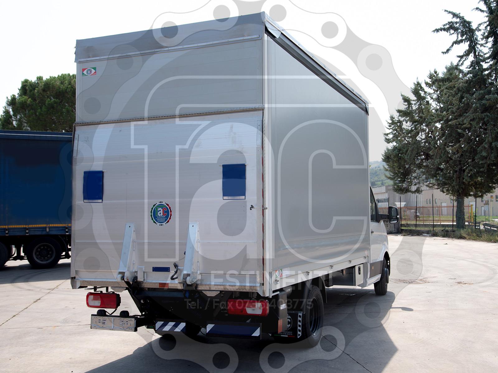 Realizzazione di furgone in alluminio 5