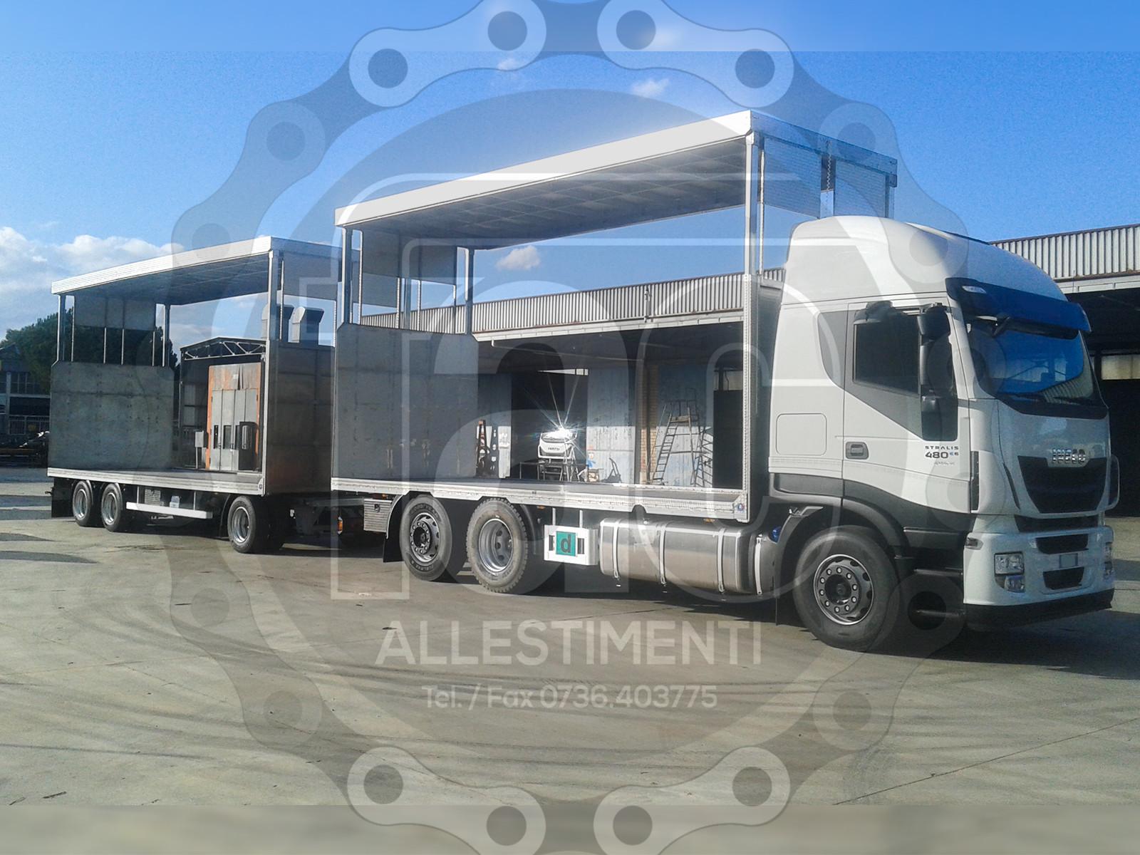 Realizzazione di camion per trasporto animali vivi 11