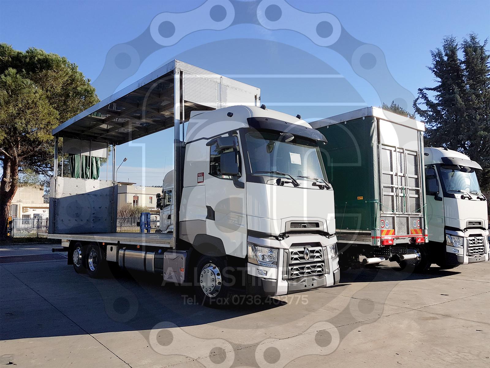 Realizzazione di camion per trasporto animali vivi 3