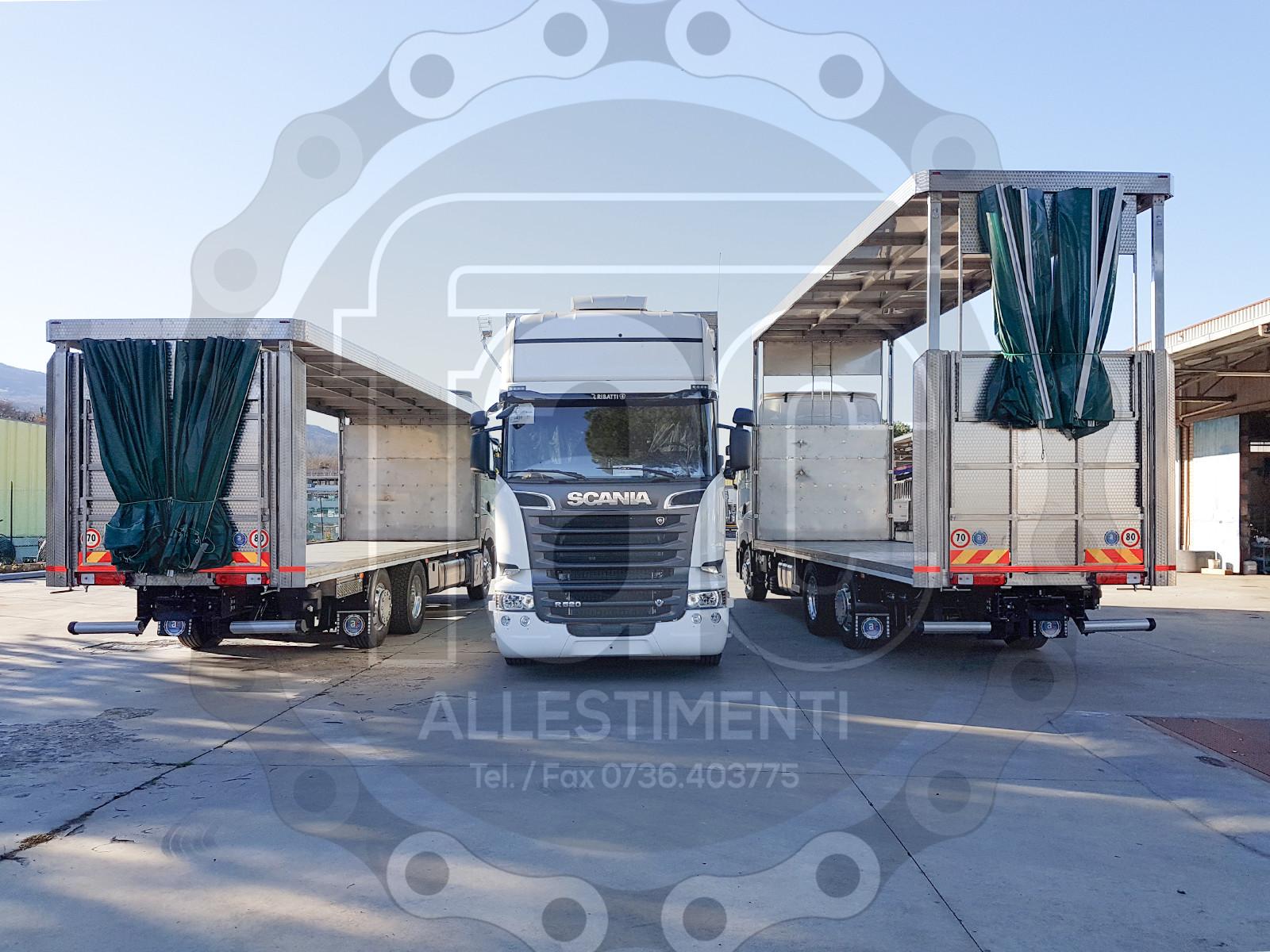 Realizzazione di camion per trasporto animali vivi 4