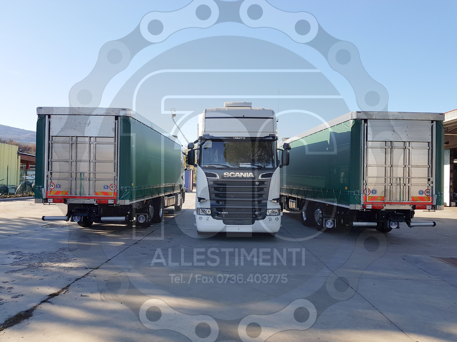 Realizzazione di camion per trasporto animali vivi 5