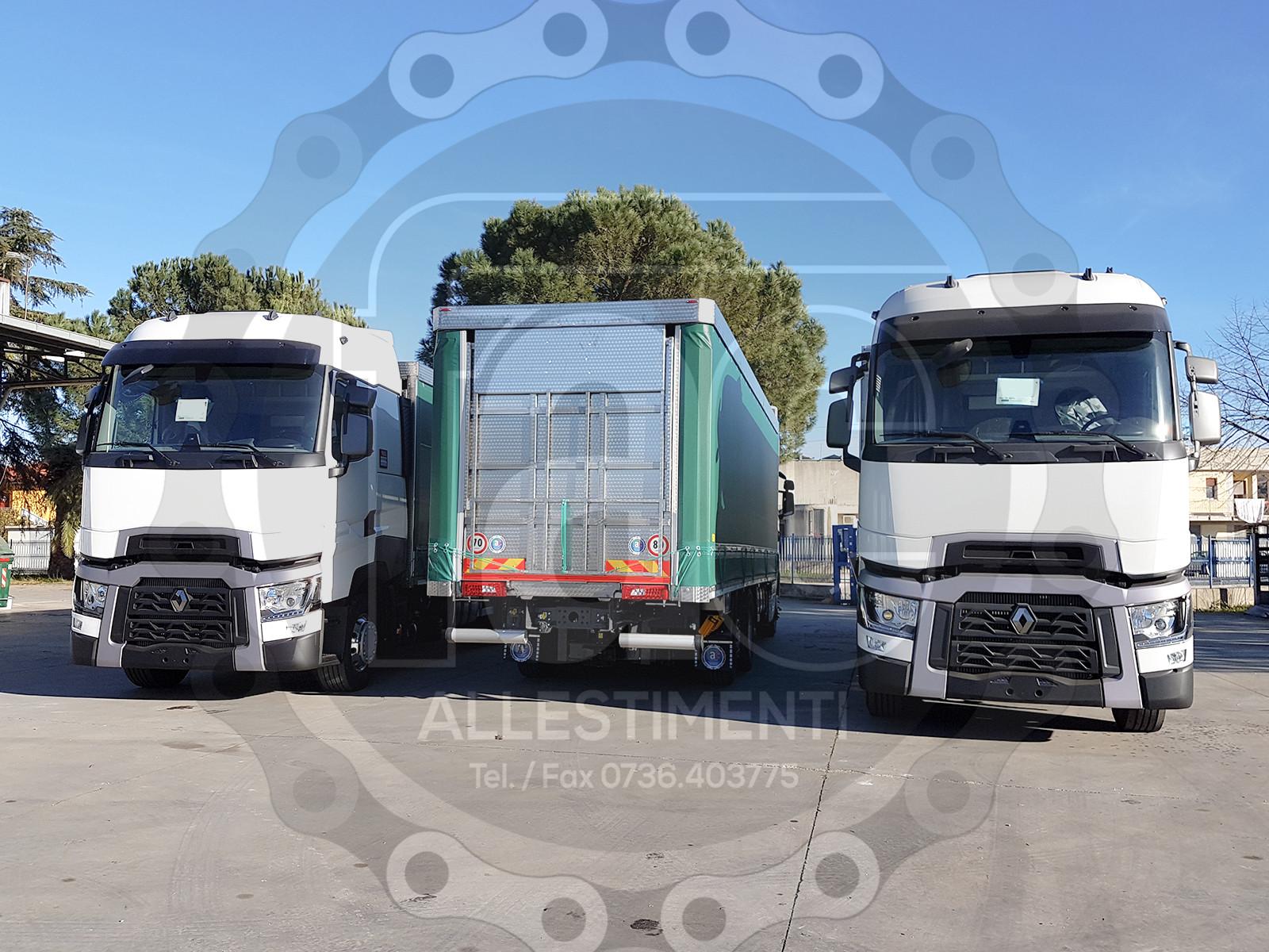 Realizzazione di camion per trasporto animali vivi 6