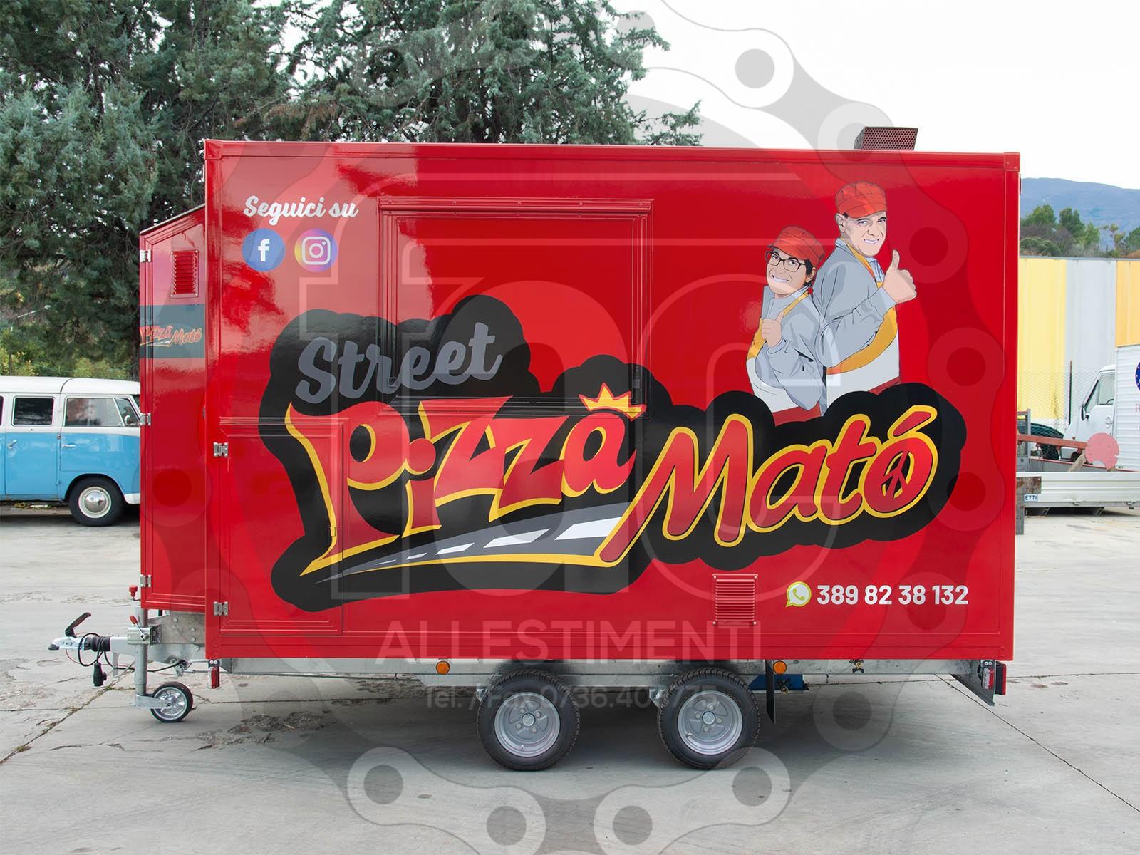 Gallery Street Pizza Matò